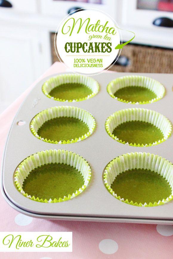 Vegan Grüner Tee Matcha Kuchen-Rezept - von niner backt - Wie Matcha