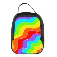 Ripple Rainbow Neoprene Lunch Bag > Ripple Rainbow > Attitude Attic