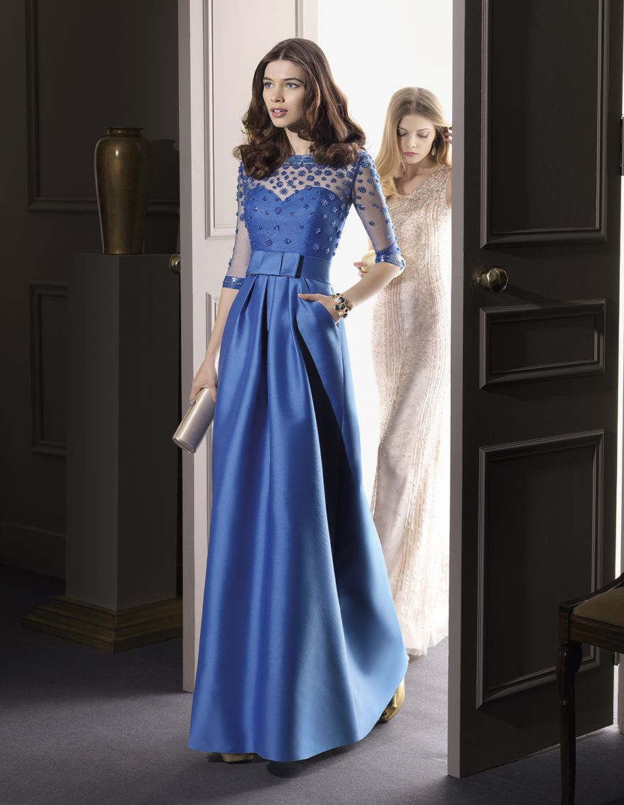 Blue bridesmaid dress for a winter wedding aire fiesta 2014 formal wear blue bridesmaid dress for a winter wedding ombrellifo Images