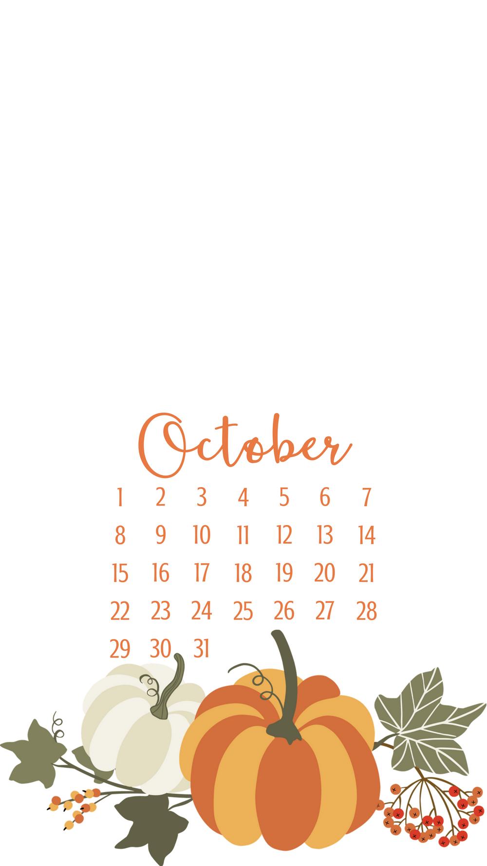 October Smart Phone Wallpapers Autumn phone wallpaper