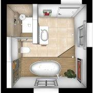 Badezimmer planen Grundriss | Minibad in 2018 | Pinterest ...