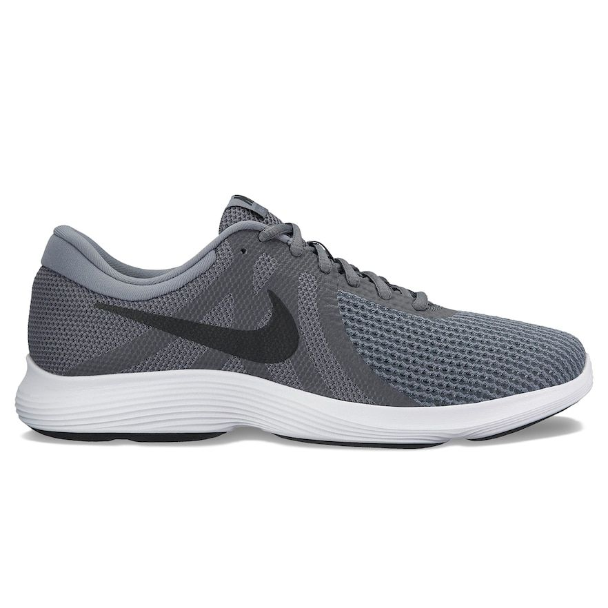 Nike Revolution 4 Men's Running Shoes, Size: 10.5 4E, Grey (Charcoal)