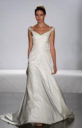 Wedding Dress Styles For Broad Shoulders One Shoulder Neckline Off The
