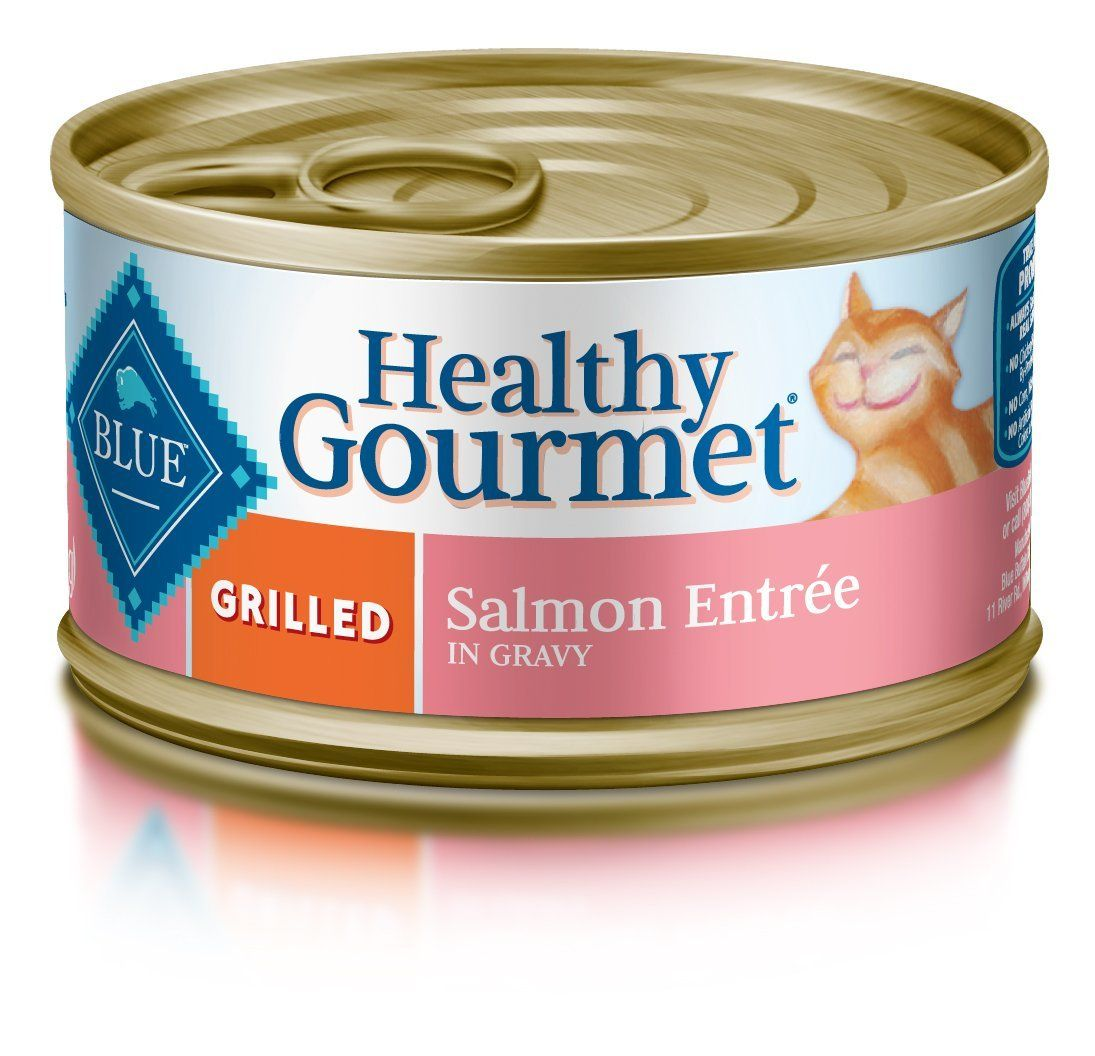 Blue Buffalo Healthy Gourmet Grilled Wet Cat Food Hurry