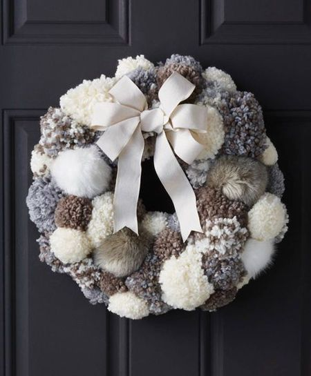 The Pom Pom Ornament Craft That Never Ends: With The Festive Season Around The Corner, We Thought It