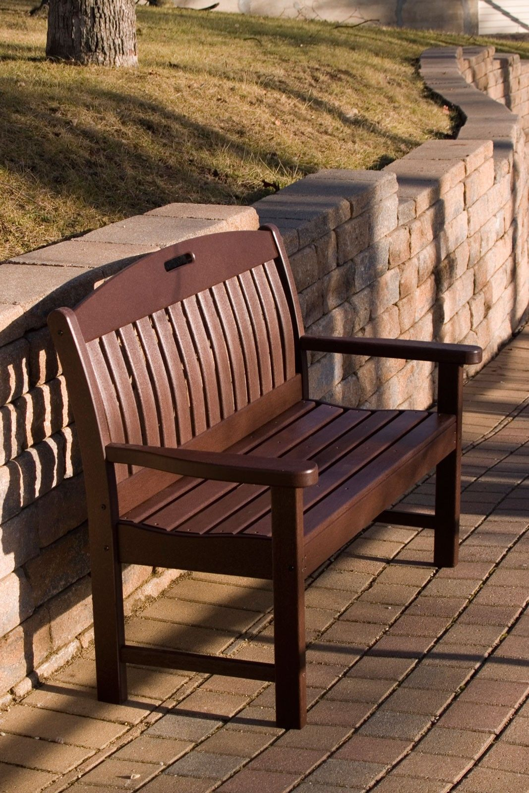 Nautical 60 Bench Plastic Garden Bench Wooden Garden Benches Garden Bench