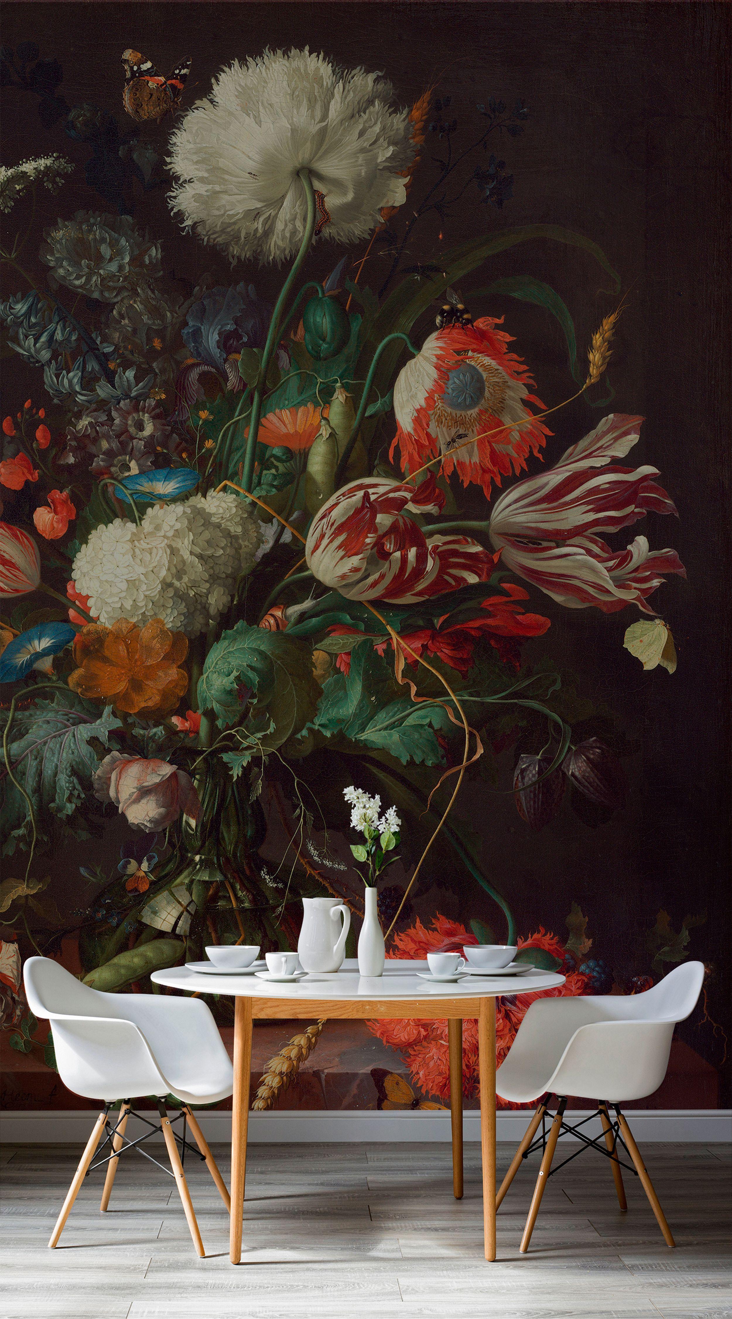 Scandinavian Treatments Wallpaper Victorian Modern Dining