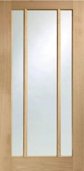 Worcester / Lincoln Oak Glazed Internal Fire Doors FD30 - paint glass with 1930s design and & Worcester / Lincoln Oak Glazed Internal Fire Doors FD30 - paint ...