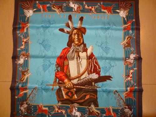 `Pani La Shar Pawnee` Hermes Scarf | eBay
