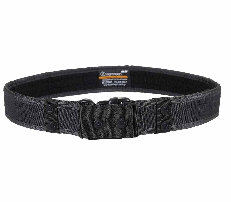 d5a0feb6e Robusto cinturón policial de Pentagon con una hebilla ajustable DuraFlex  UTX no metálica, cubierta por