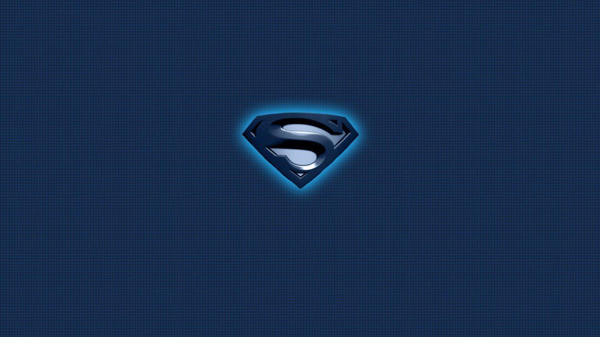 Superman Logo Blue Wallpaper