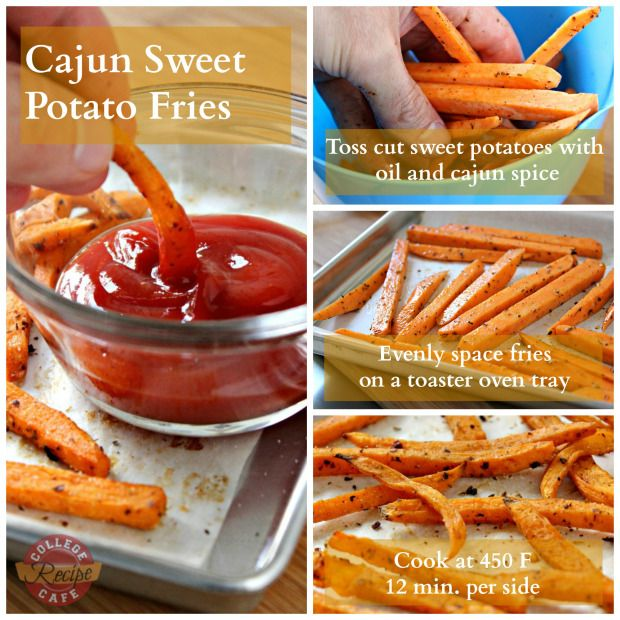 Cajun Sweet Potato Fries Healthy Way To Satisfy A Craving For Fries Cooking Sweet Potatoes Sweet Potato Oven Sweet Potato Fries Baked