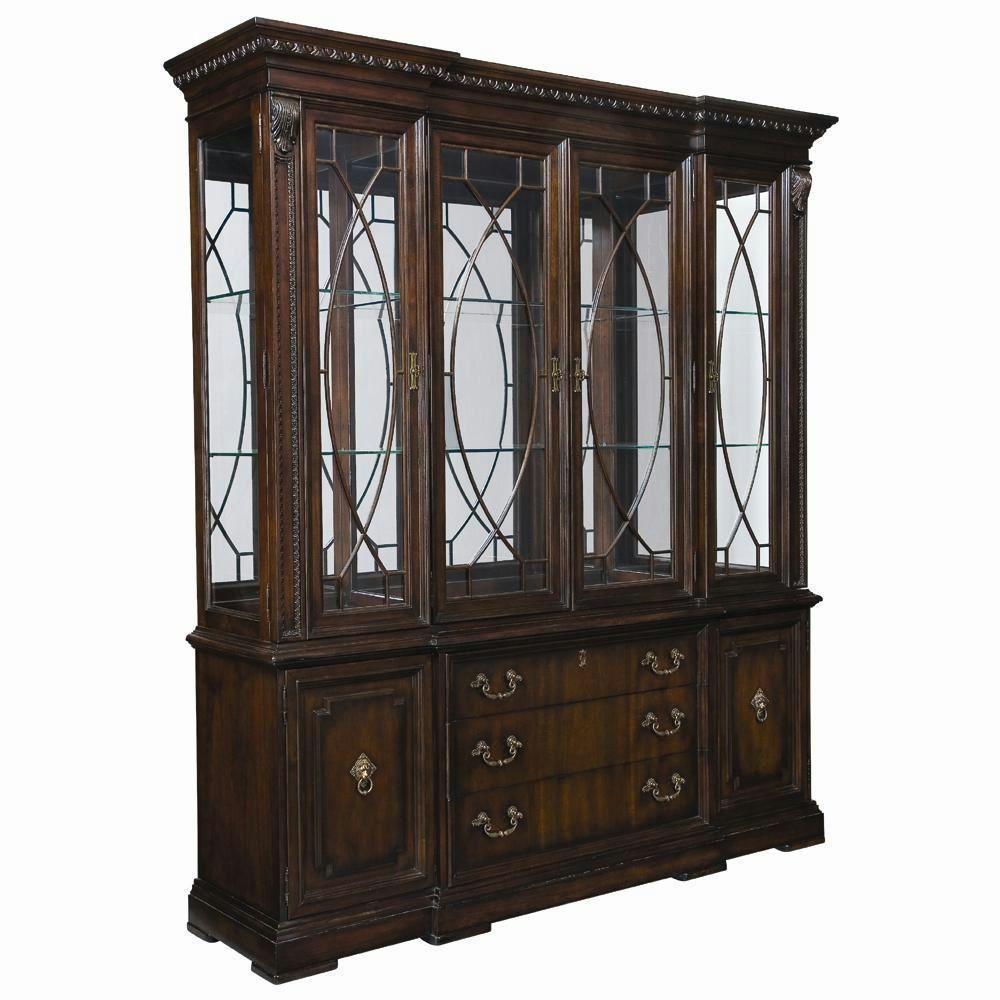Thomasville Furniture Brompton Hall China Cabinet Hutch