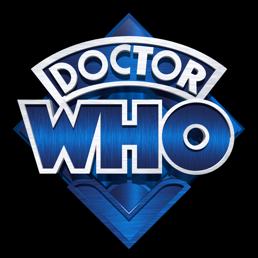 Another 4th Doctor Logo Render But This Time It S Blue Based On The Tv Versionhttps I Redd It Nle7nvtsudu21 Png Doctor Logos 4th Doctor Doctor