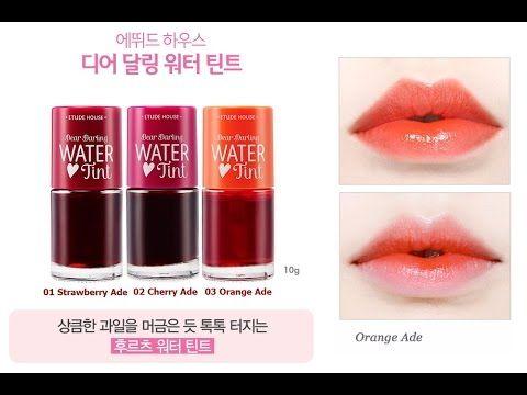 Dear Darling Water Tint Etude House Review Tints Etude House Makeup