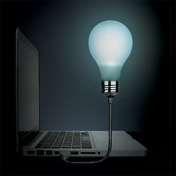 Bright Idea Laptop Light Potential Christmas Presents Pinterest