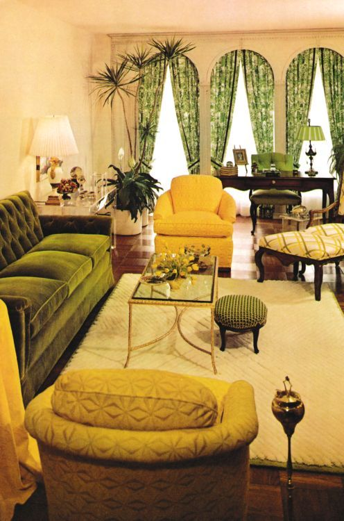 Vintage decor inspirations to decorate your place for 70s living room furniture