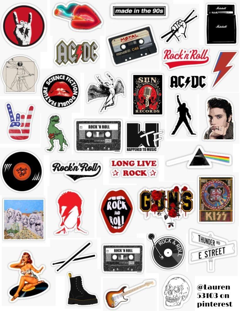 Guitar Sticker Pack