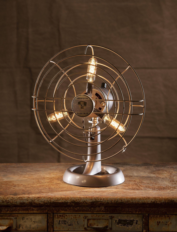 Emerson table fan lamp | Table fan