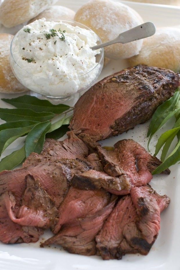 Beef Tenderloin With Horseradish Cream