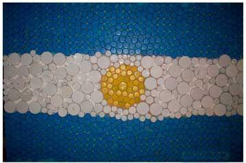 Ideas Para Decorar Y Hacer Banderas Con Diferentes Técnicas Día De La Bandera Bandera Argentina Manualidades