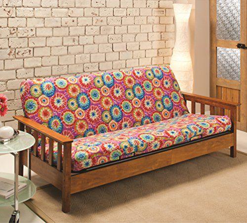 tie dye futon cover stretch slipcover machine washable wi    https    tie dye futon cover stretch slipcover machine washable wi    https      rh   pinterest