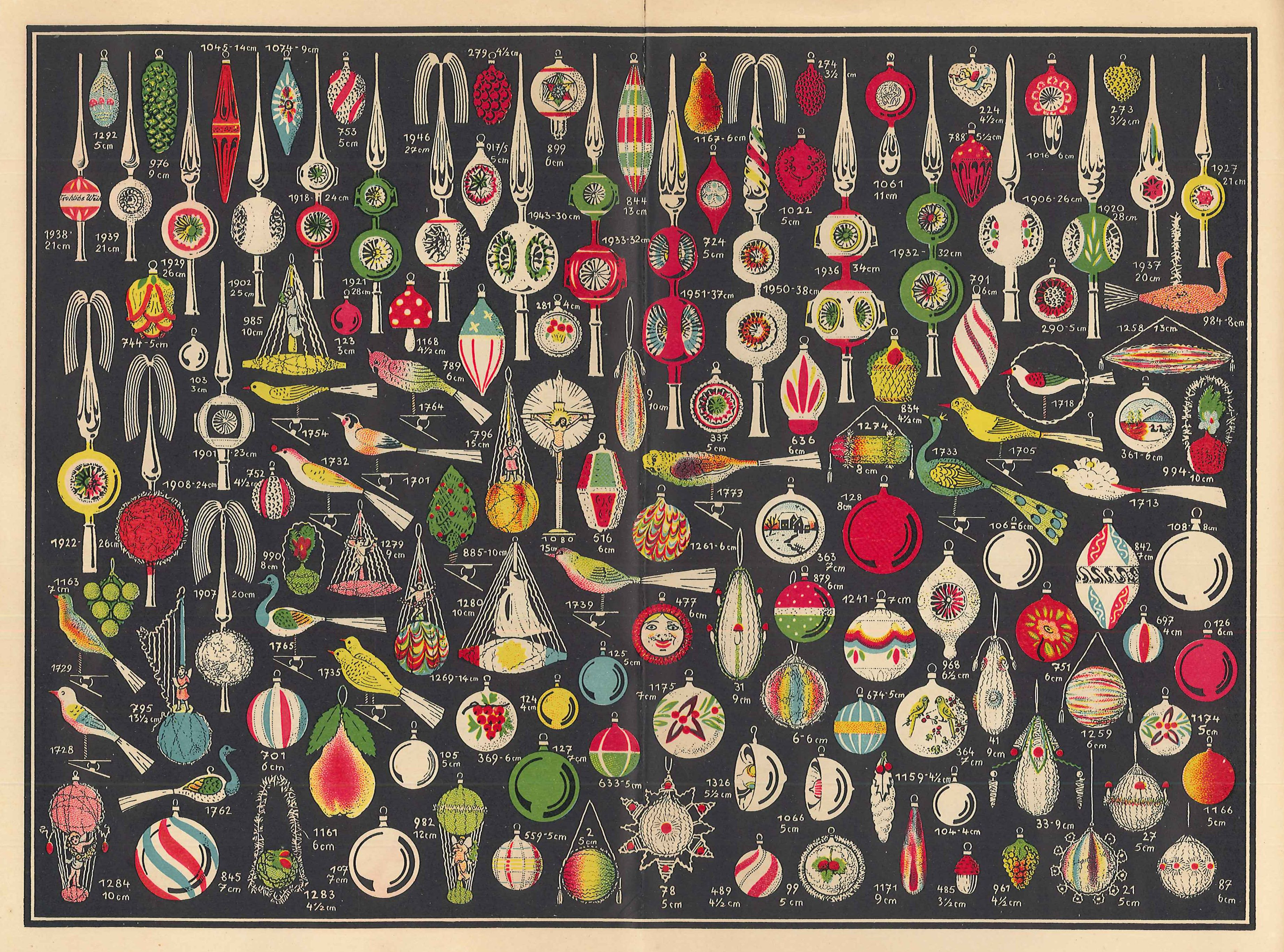 Christmas ornament catalogs - Glass From Christmas Past