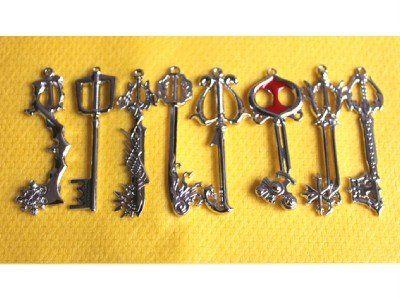 Kingdom hearts keyblade pendants yes please fangirling ahoy kingdom hearts keyblade pendants yes please aloadofball Image collections