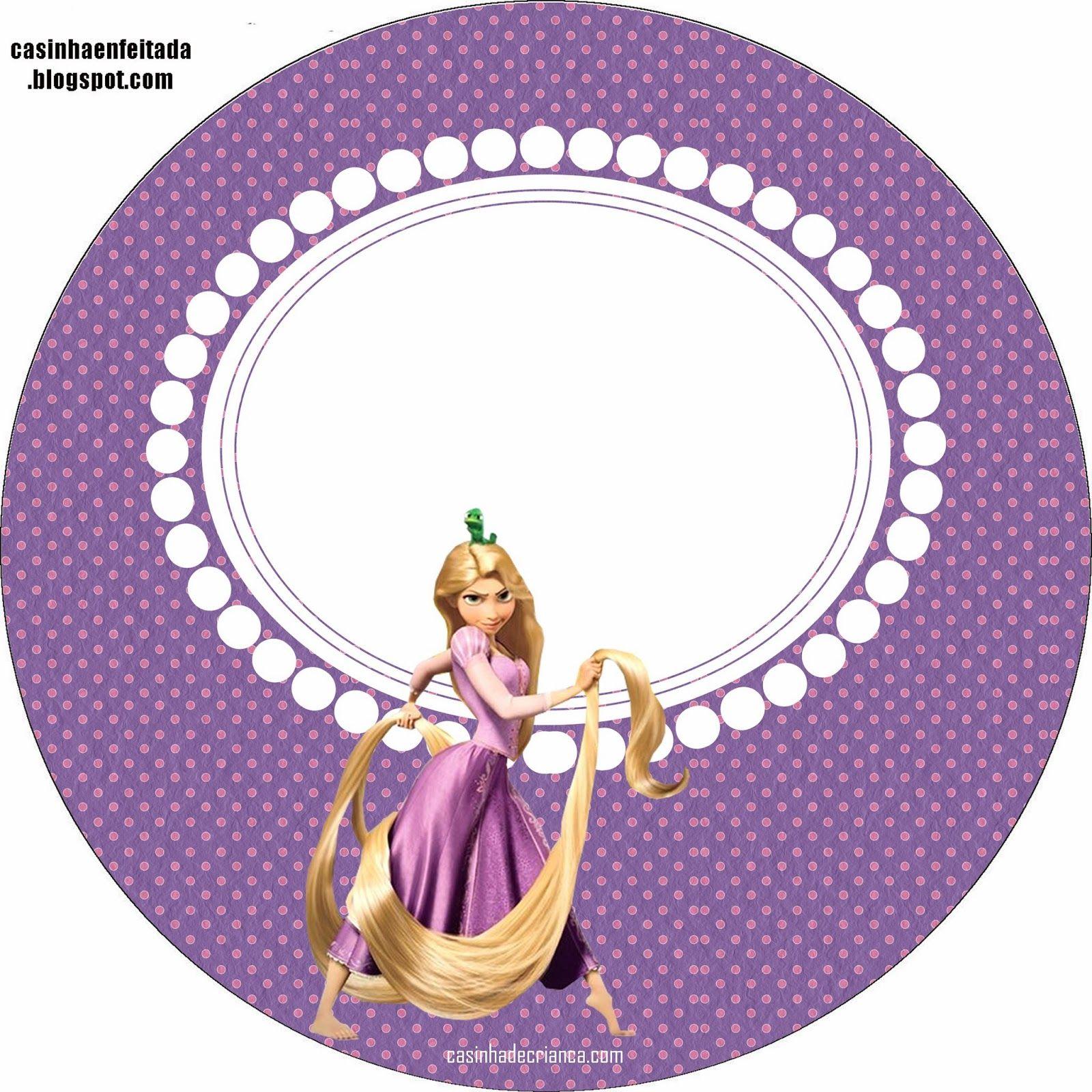 Kit Festa Enrolados Rapunzel Para Imprimir Gratis