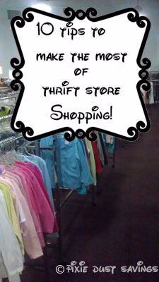 10 Tips For Making The Most Of Thrift Shopping –