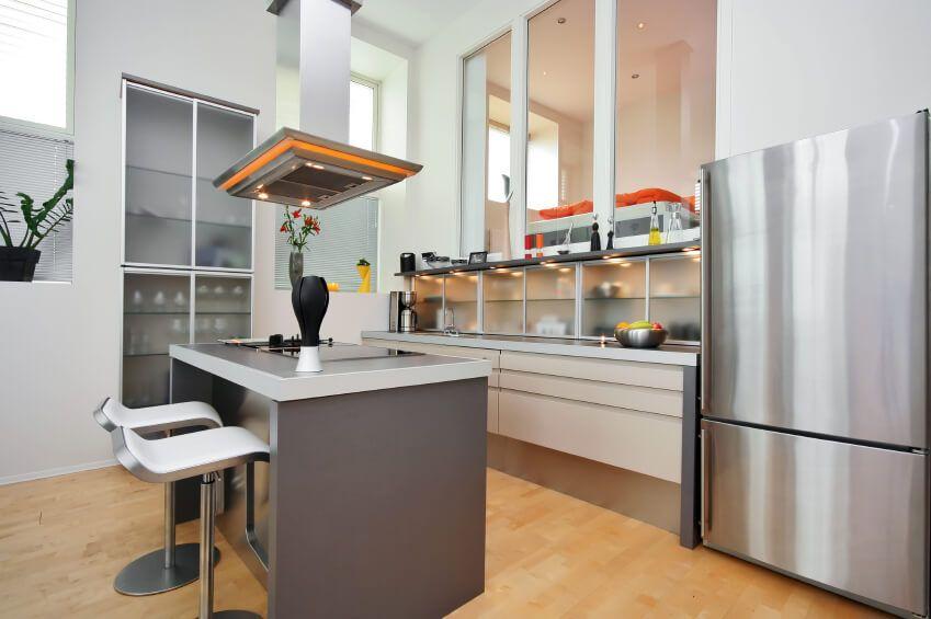 Kleine Küche Inseln | Küche | Pinterest | Design für kleine Küche ...