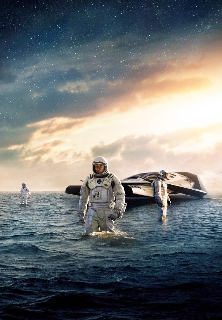 Textless Movie Posters – An awesome collection of movie posters without the texts (Interstellar)