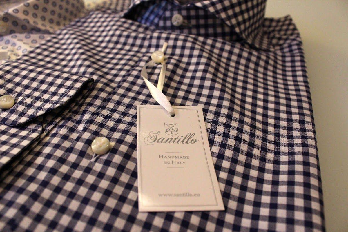 New in: Santillo shirts ~ The Bespoke Dudes by Fabio Attanasio