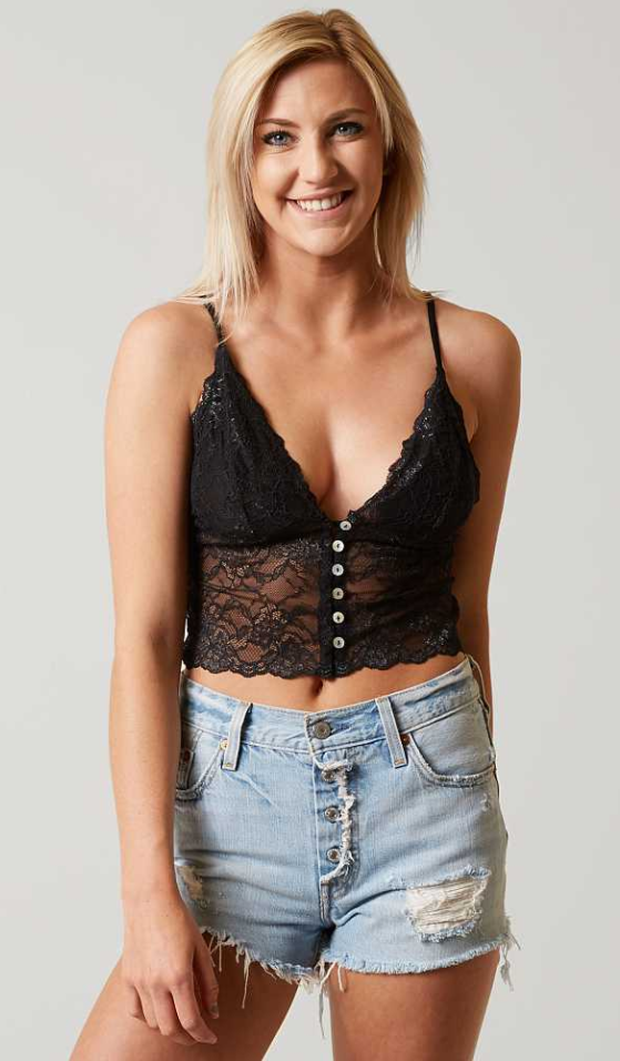 e76bc356d1e8b Free People Night Tales Bralette - Women s Bandeaus Bralettes in Black