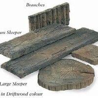 Sett 225 x 225mm Timberstone (Full Pack Price) Driftwood (40ppp)
