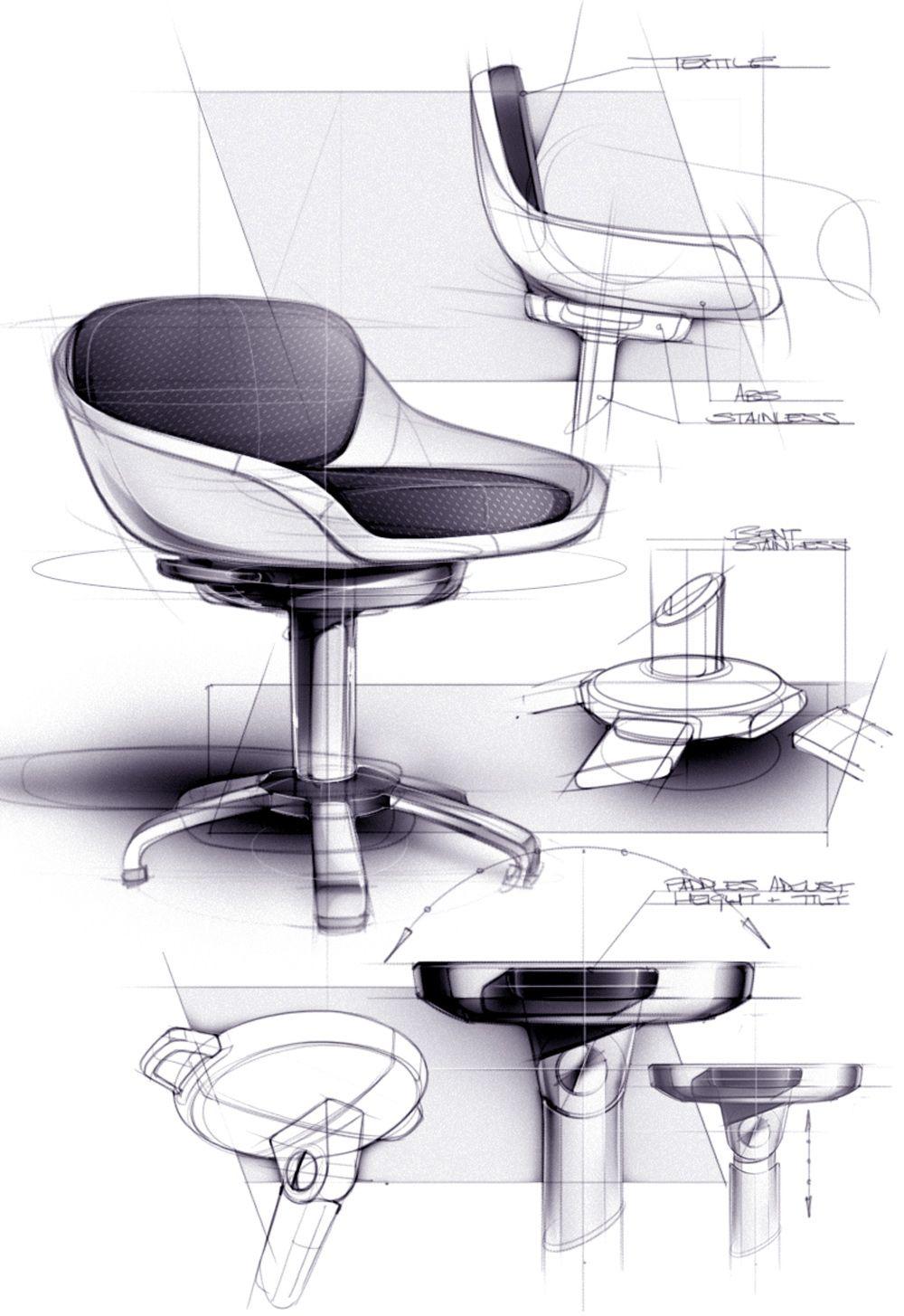Sketches I On Behance Furniture Design Sketches Interior Design Sketches Industrial Design Sketch