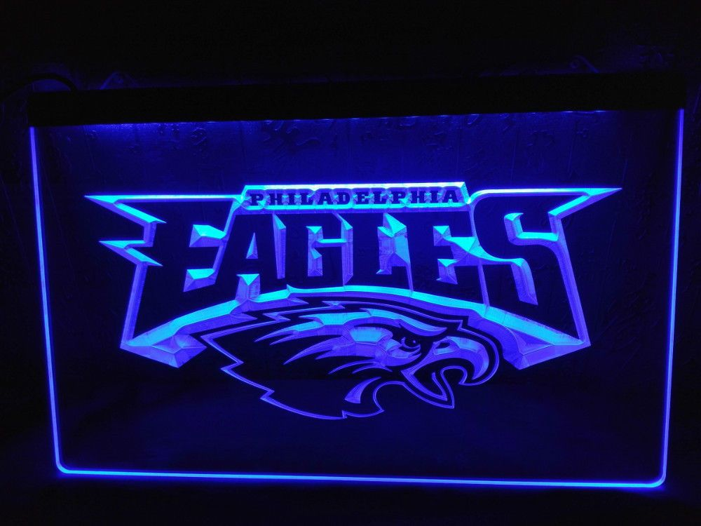 Led Sign Home Decor Simple Ld054 Philadelphia Eagles Football Led Neon Light Sign Home Decor Design Ideas