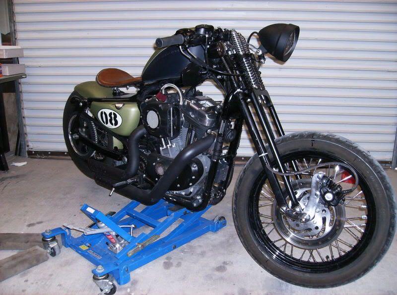 Custom Harley Davidson With Springer Front End – Articleblog