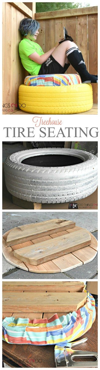 Tire Project - treehouse seating | Pimp This House ...