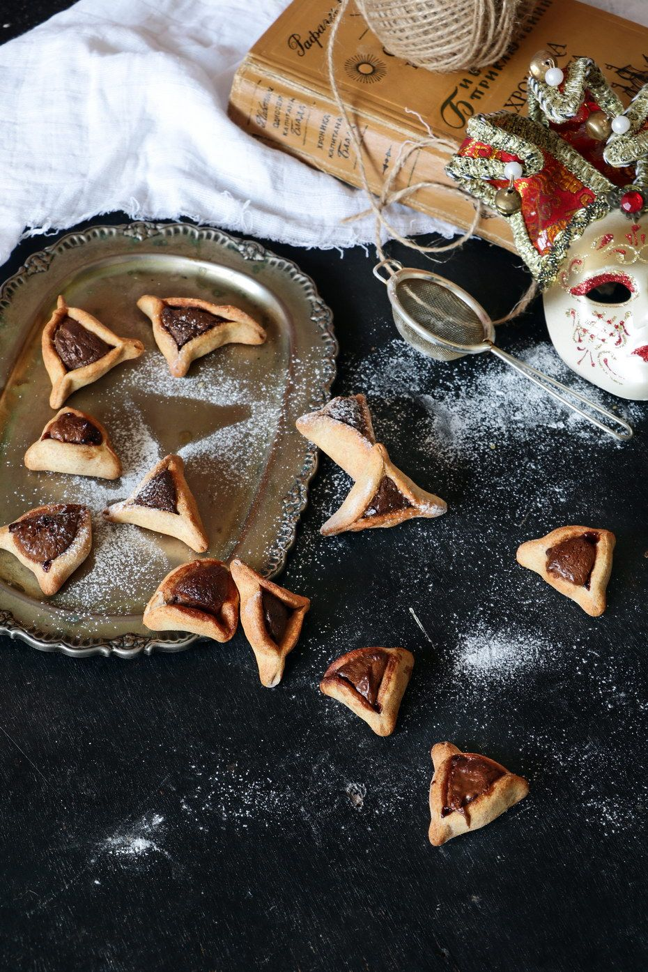 Dairy Free Hazelnut Hamantaschen, this is one of my favorite Purim recipe. Click the photo for the full recipe!