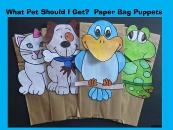 how to make a turtle paper bag puppet