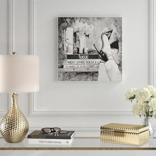 Gerahmtes Poster Empire Fashion von Eyre Tarney East Urban Home Größe: 46 cm H x 46 cm B