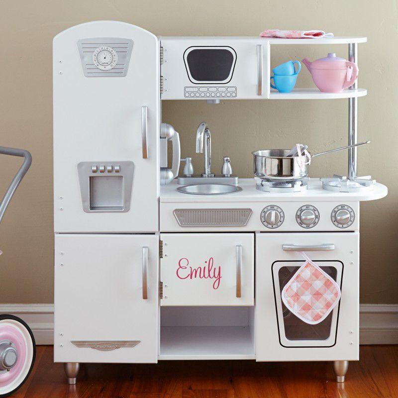 Kidkraft Vintage Kitchen-White   Kitchen white, Kidkraft vintage ...