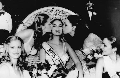 MISS UNIVERSE 1979, winner Venezuela