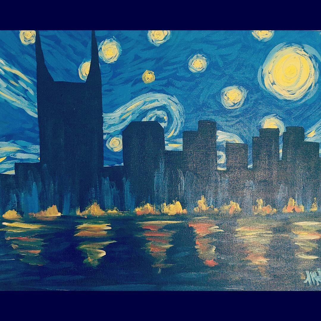 Now This I Can Take Credit For Vincentvangogh Thestarrynight Meets