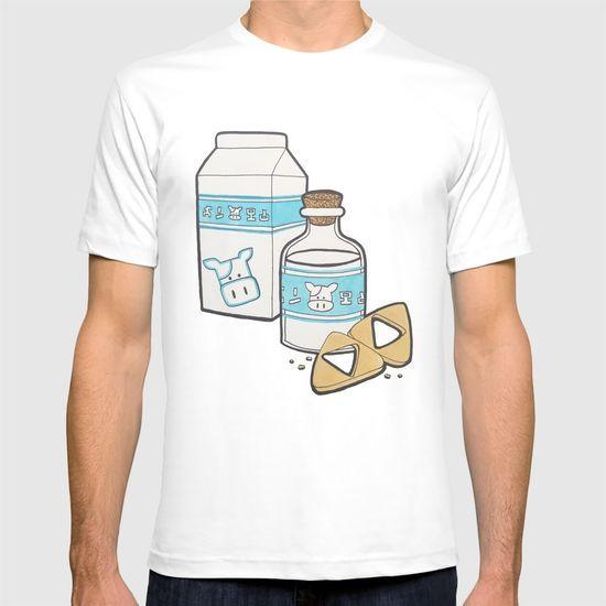 Lon Lon Milk & Cookies T-shirt by Kayla Jean | Society6