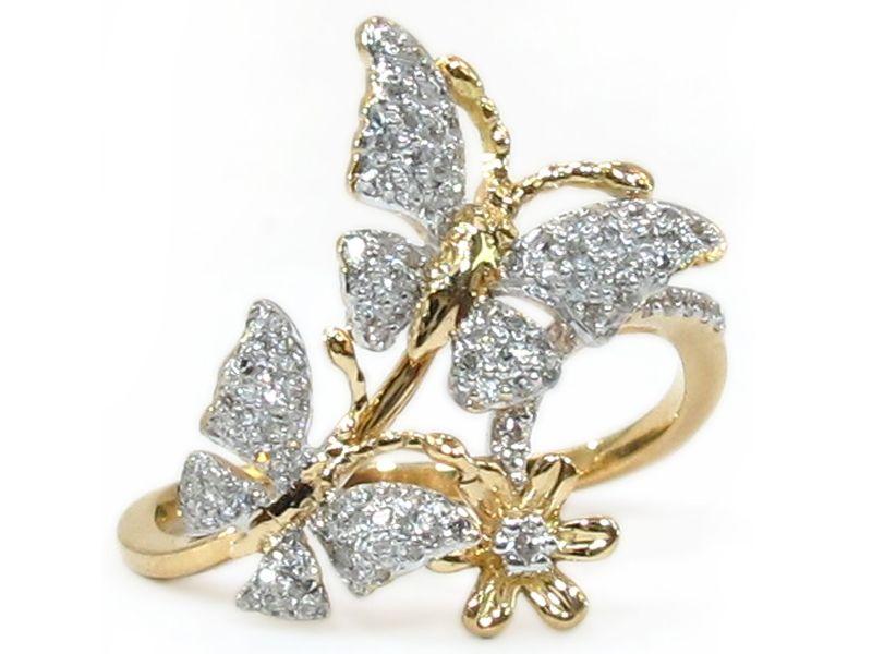 3_1373361210FSR5632-14k-yellow-gold-solid-white-diamond-butterfly ...