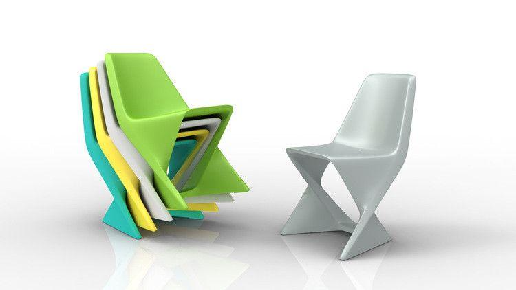 Chaise Iso Qui Est Paul Bleu Made In Design Qui Est Paul