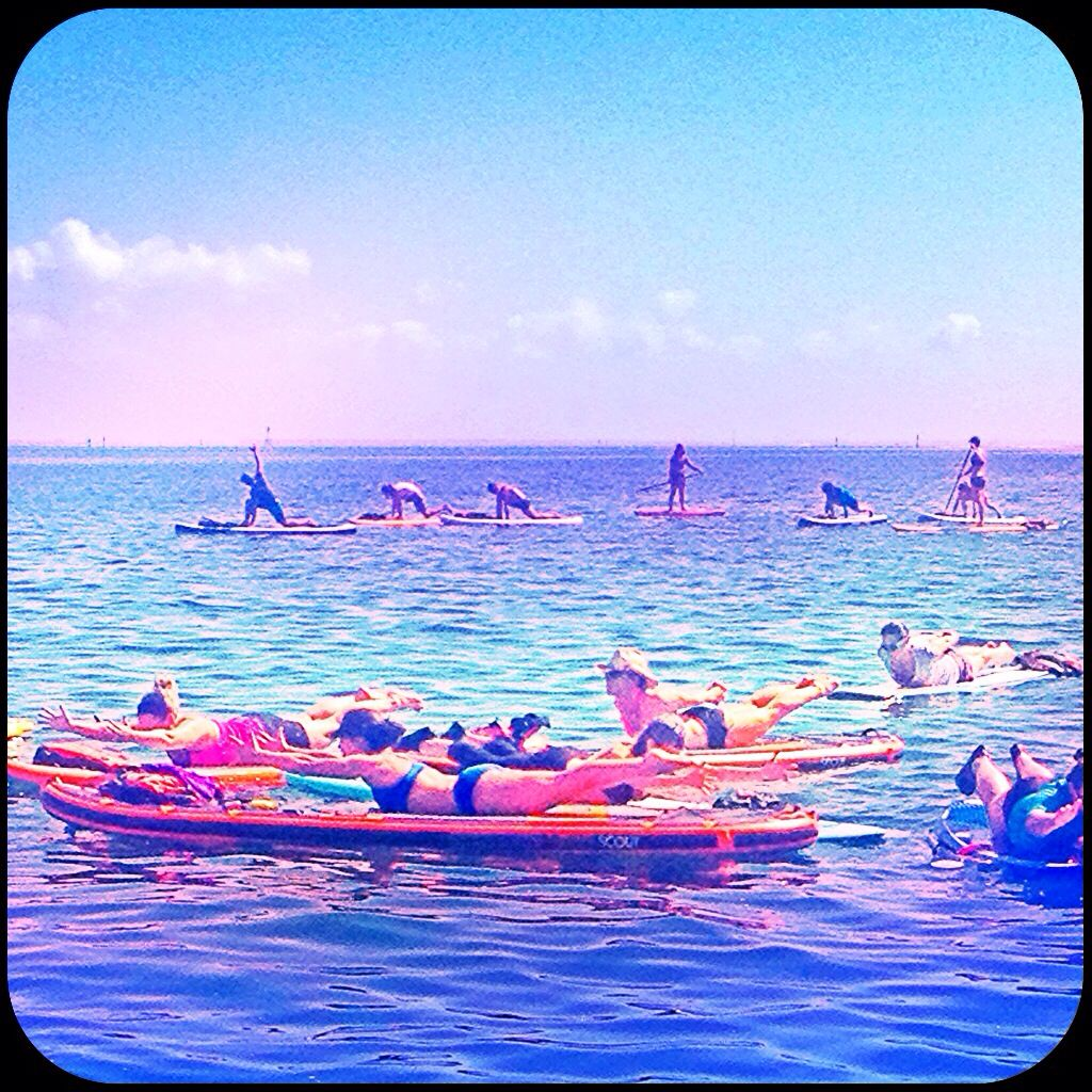 From the first and most experienced SUP & Yoga Training