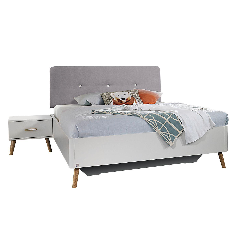 Bett Bett, Bett 120x200 weiß, Bett 140x200 weiß